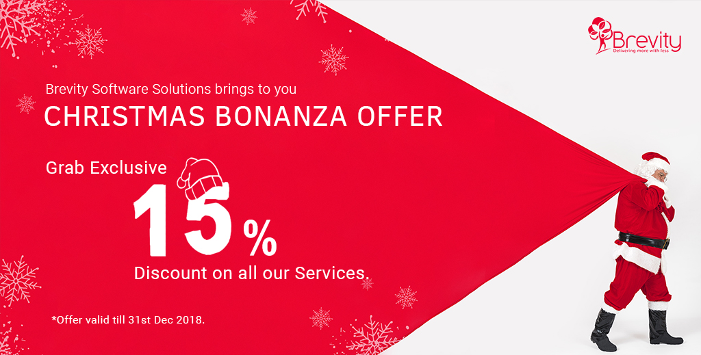 Get 15% Christmas offers on mobile & web development