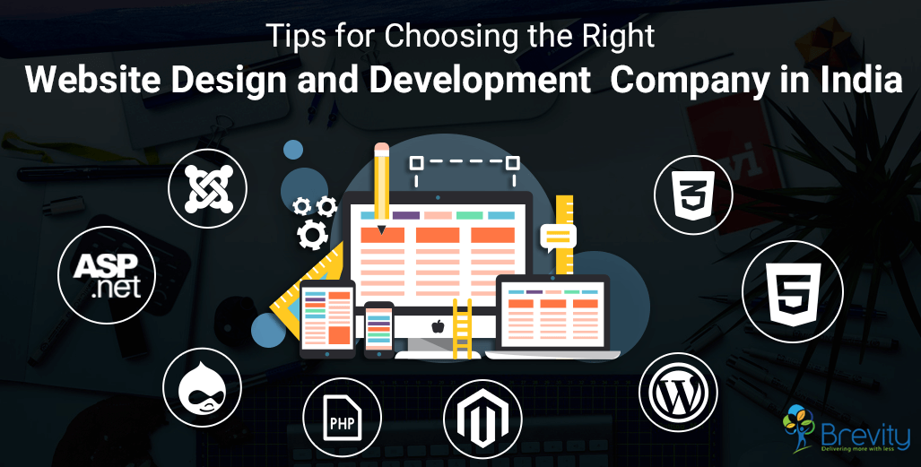 Tips for choosing web design and development company in India