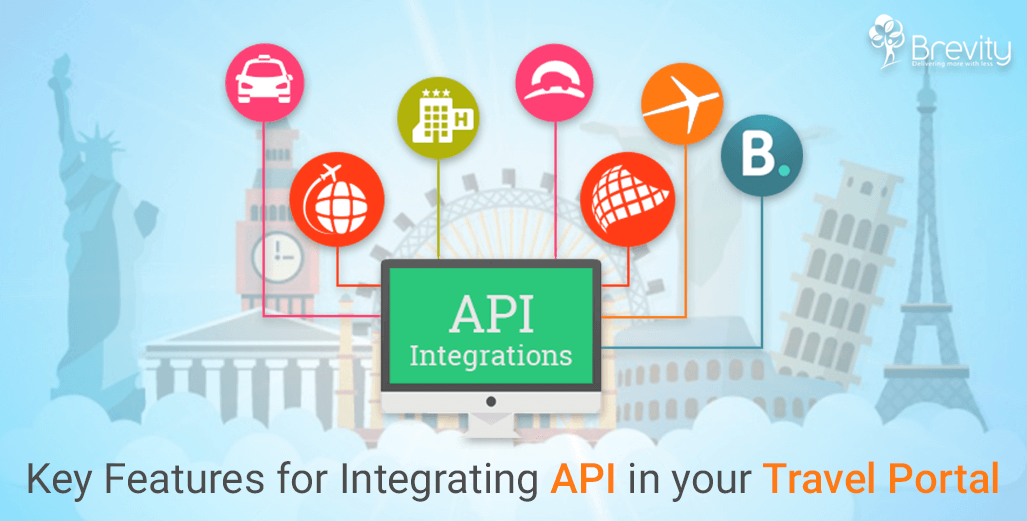 Key features for integrating API in travel portal