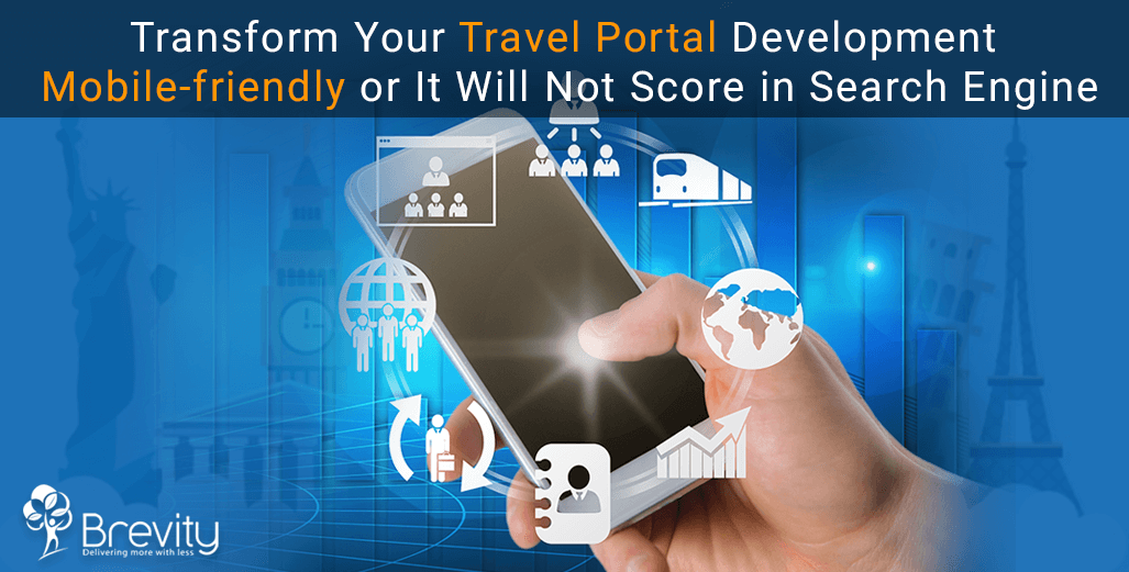 Mobile friendly travel portal development solutions