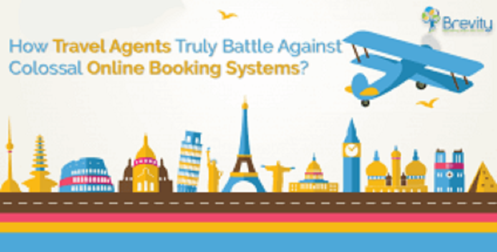 Travel agents battle against the online travel booking systems