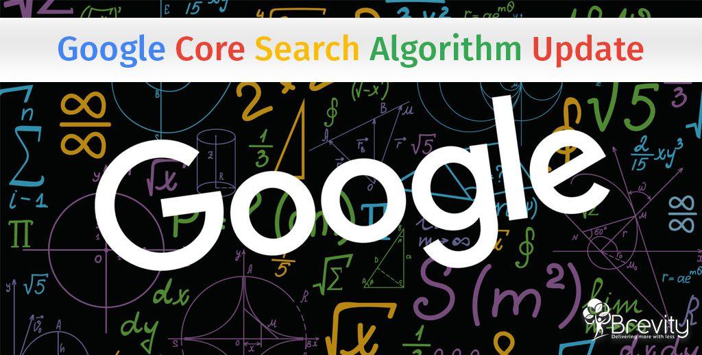 Google Core Search Algorithm