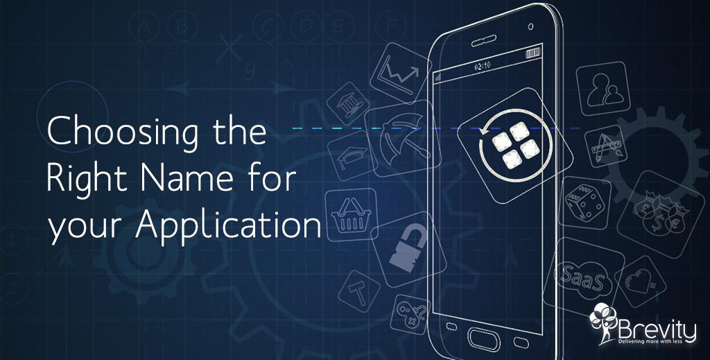 Naming an app