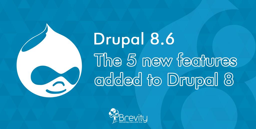 Drupal 8.6 released