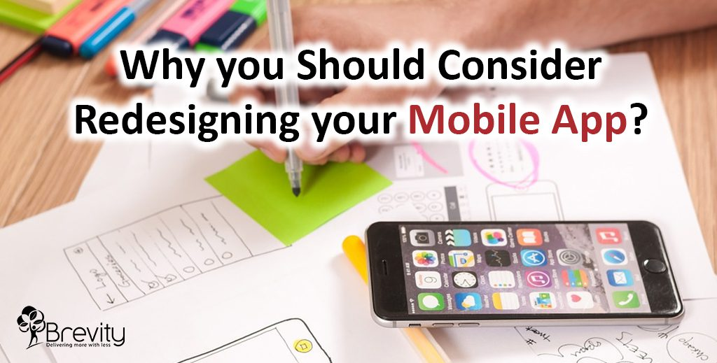 Redesigning your mobile app