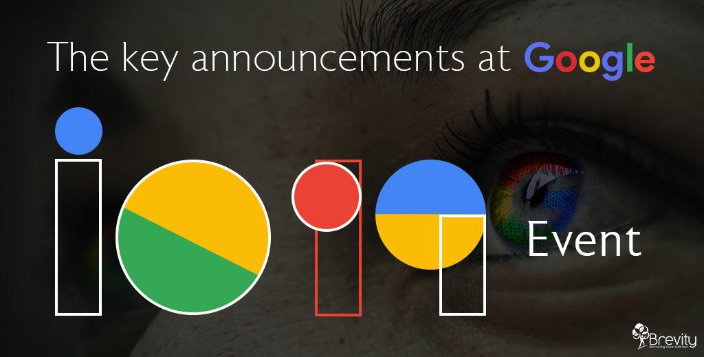 Google IO 2019 event announcements