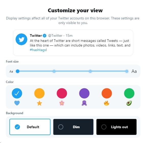 Customizable Twitter