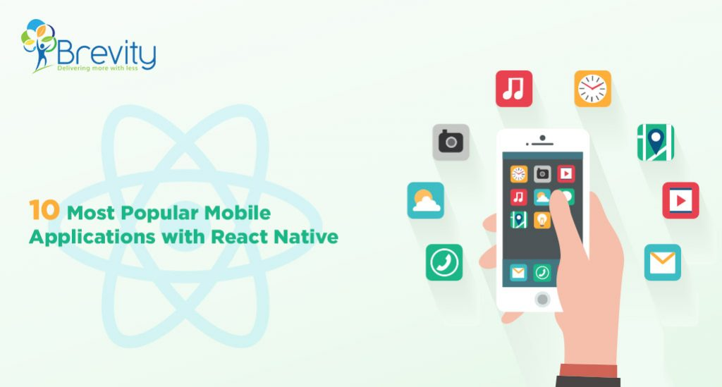 10 Most Popular Mobile Applications with React Native