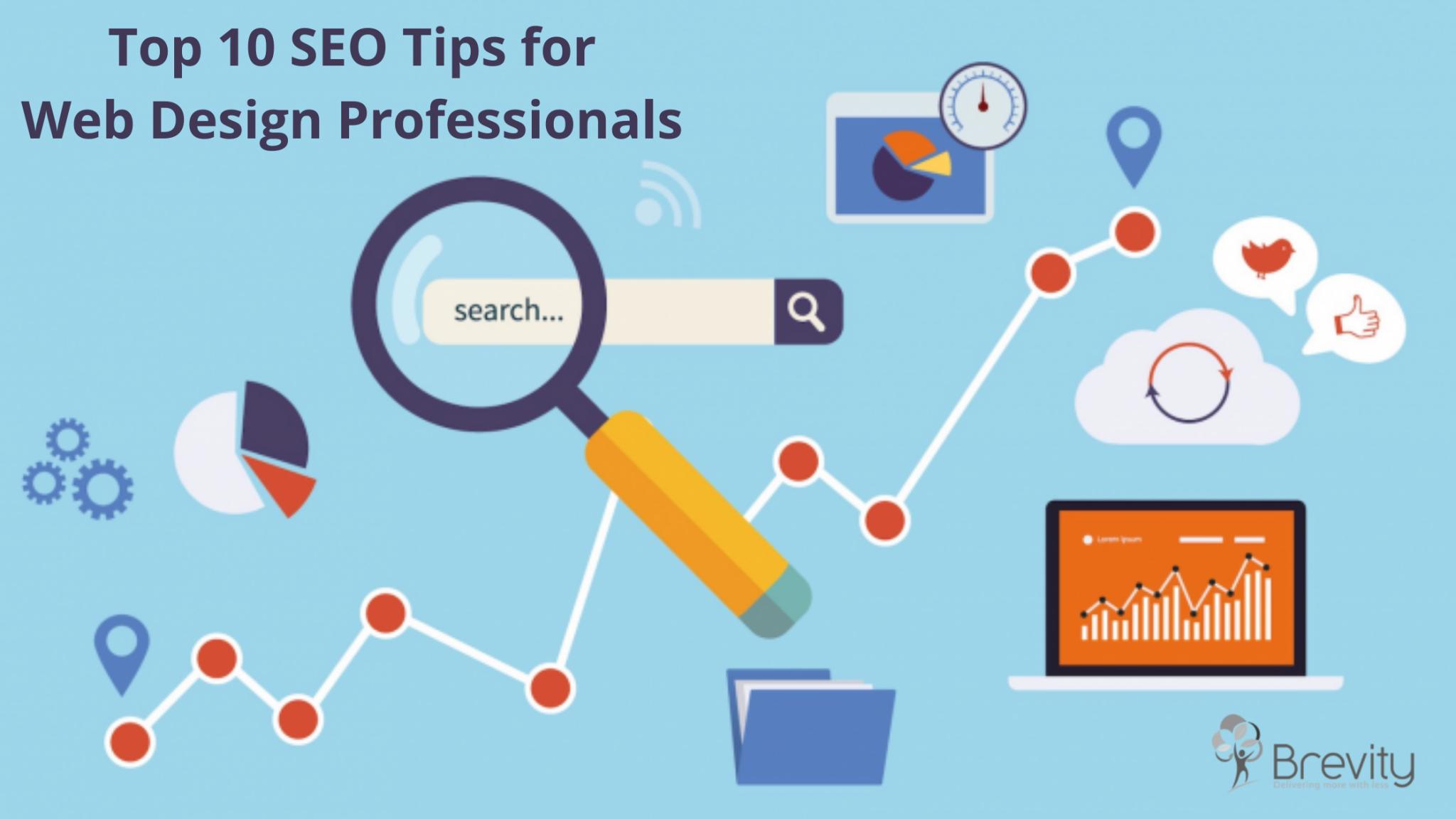 Top 10 SEO Tips for Web Design Professionals